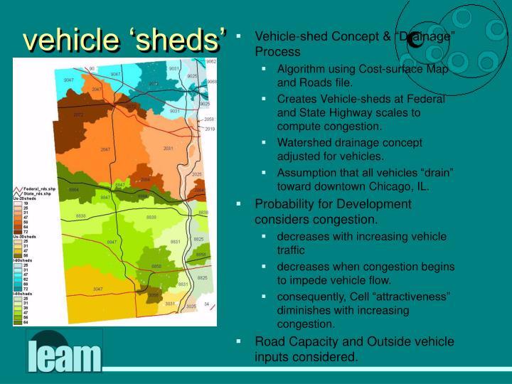 vehicle 'sheds'