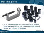 ball joint press