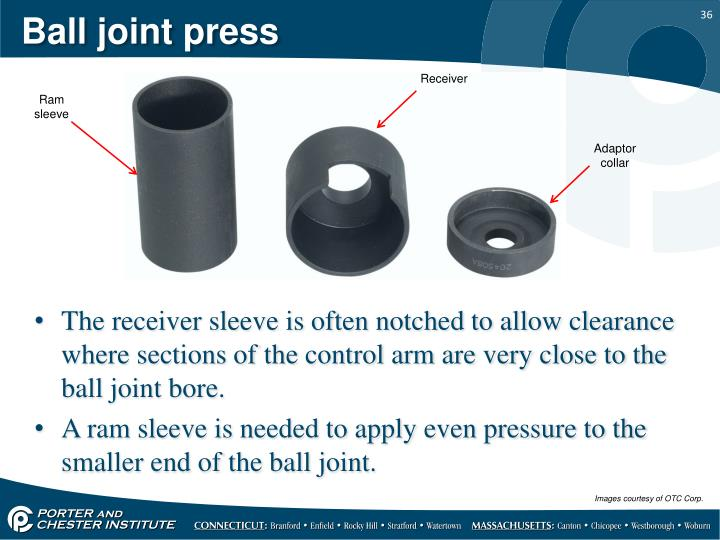 Ball joint press