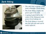 zerk fitting