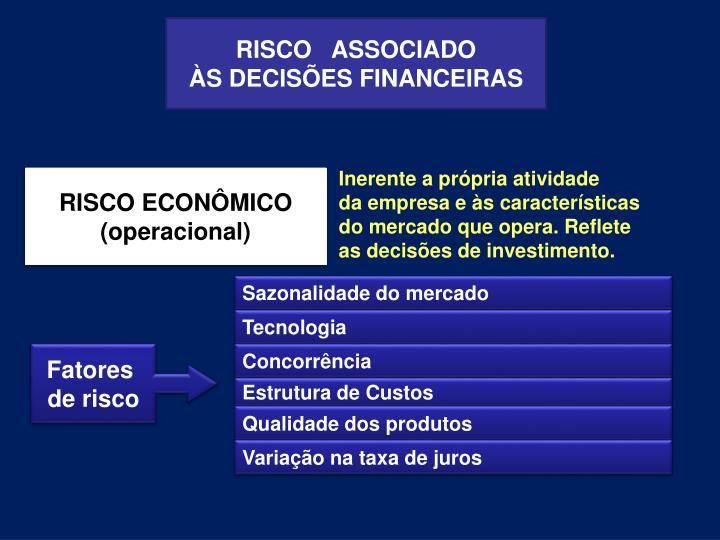 RISCO   ASSOCIADO