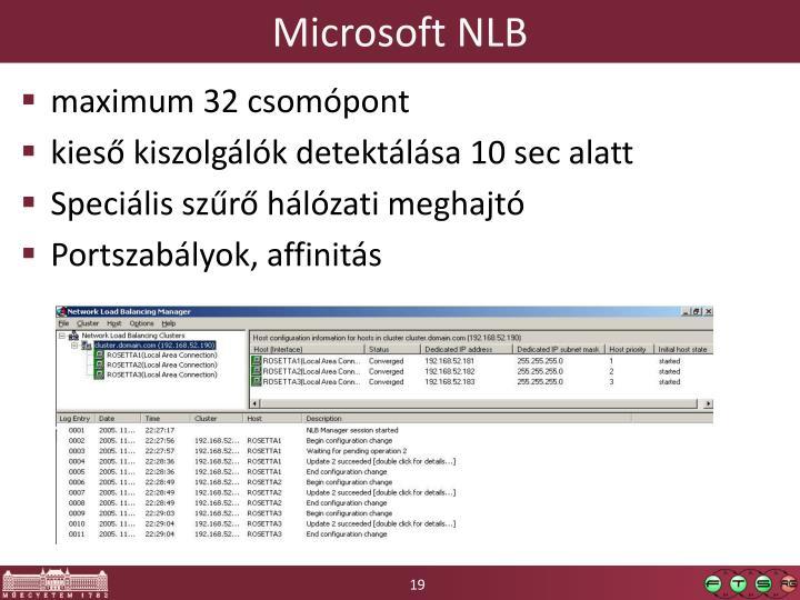 Microsoft NLB
