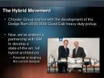 the hybrid movement