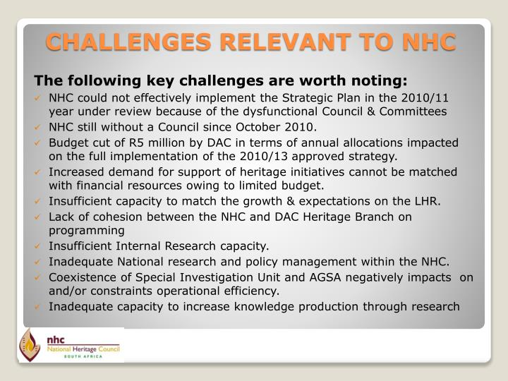 The following key challenges are worth noting: