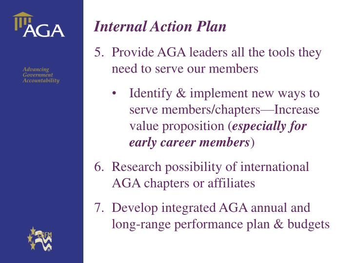 Internal Action Plan