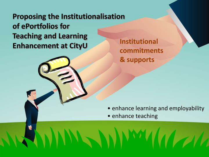 Proposing the Institutionalisation of ePortfolios for