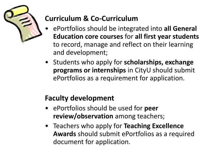 Curriculum & Co-Curriculum