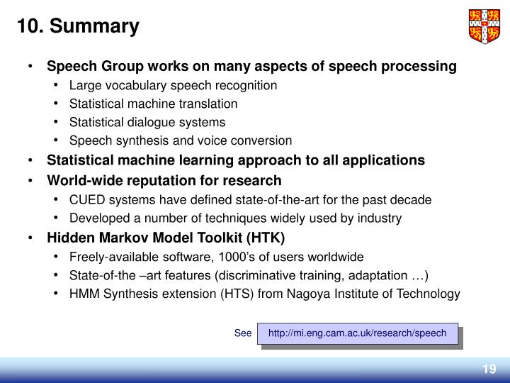 http://mi.eng.cam.ac.uk/research/speech