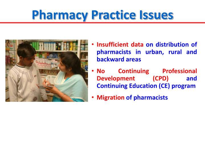 Pharmacy Practice Issues