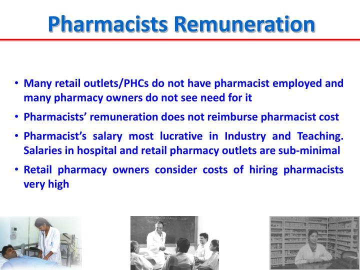 Pharmacists Remuneration