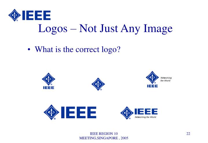 Logos – Not Just Any Image