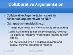 collaborative argumentation