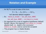 notation and example