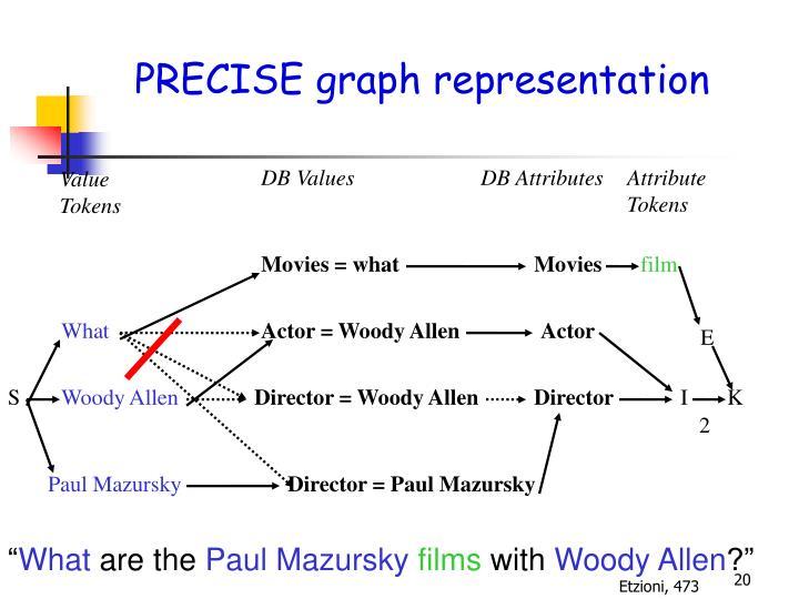 PRECISE graph representation