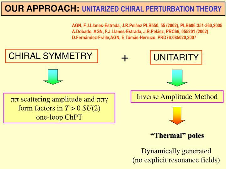 Inverse Amplitude Method