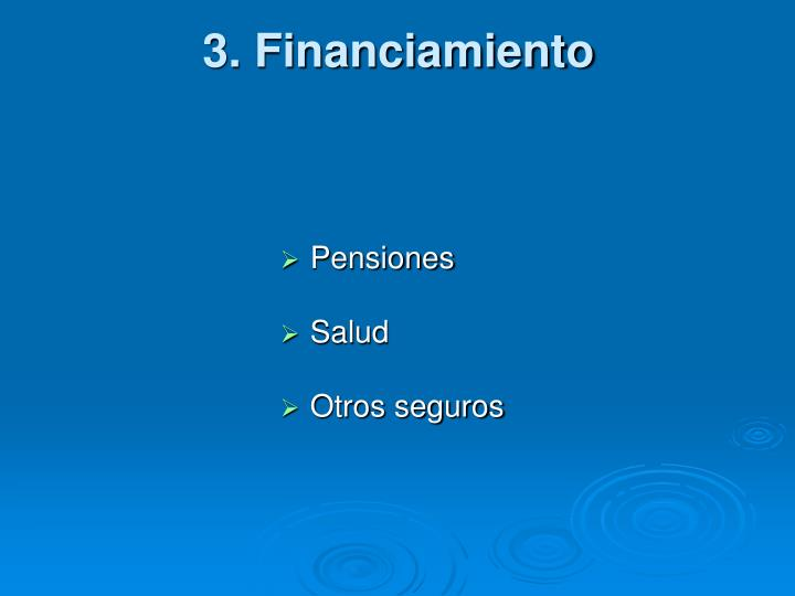 3. Financiamiento