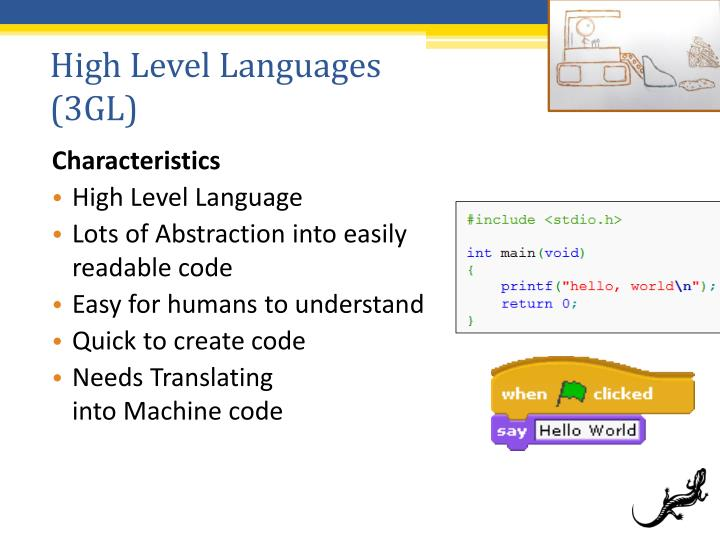 High Level Languages