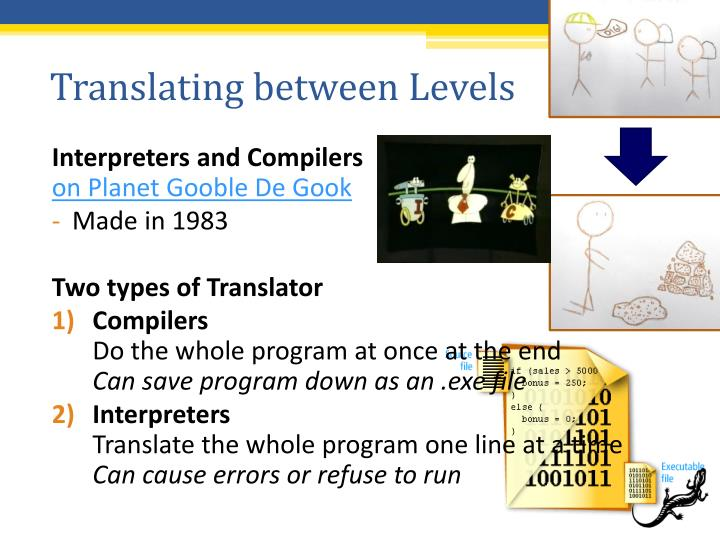 Translating between Levels