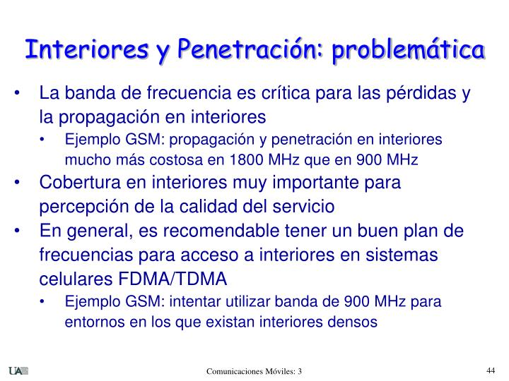 Interiores y Penetración: problemática