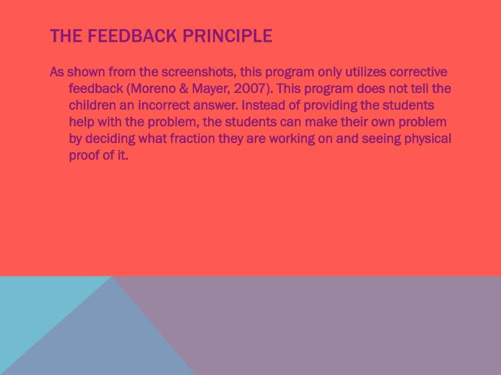 The Feedback Principle