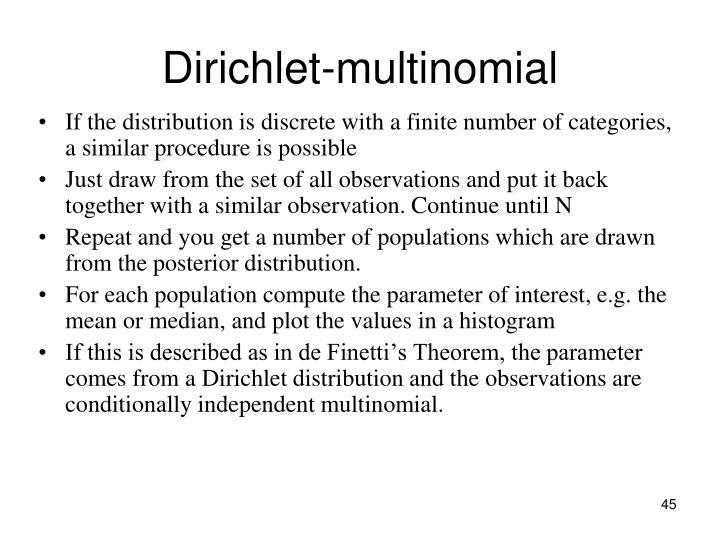 Dirichlet-multinomial
