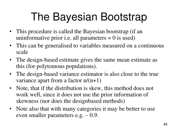 The Bayesian Bootstrap