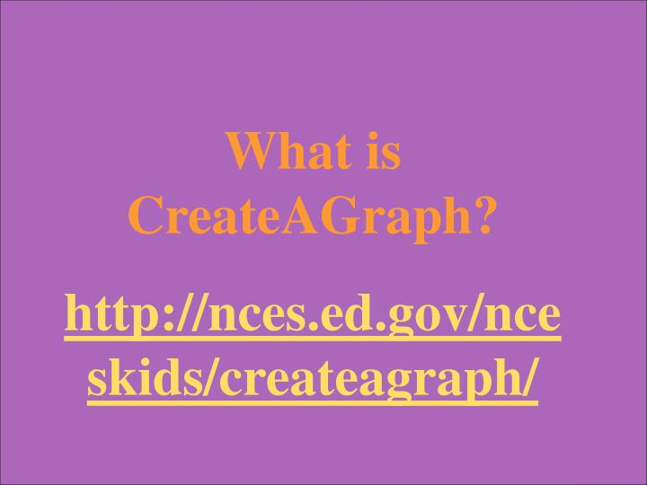 What is CreateAGraph?