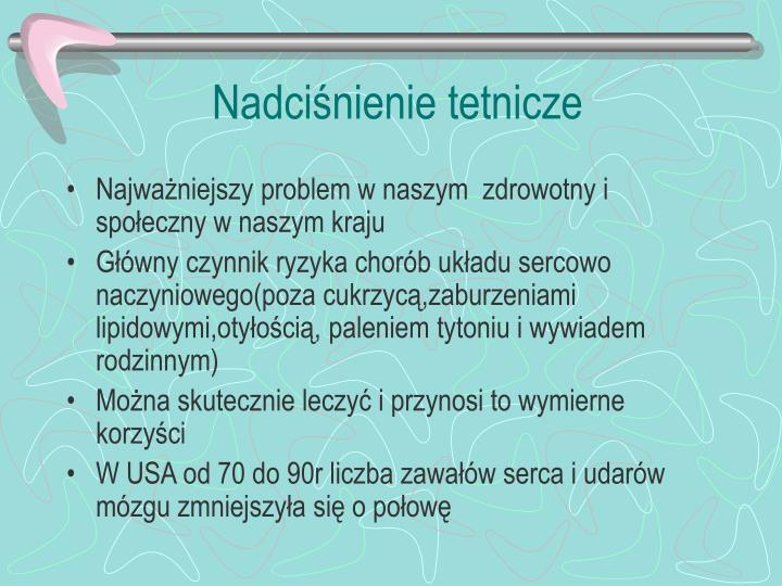 Nadciśnienie tetnicze