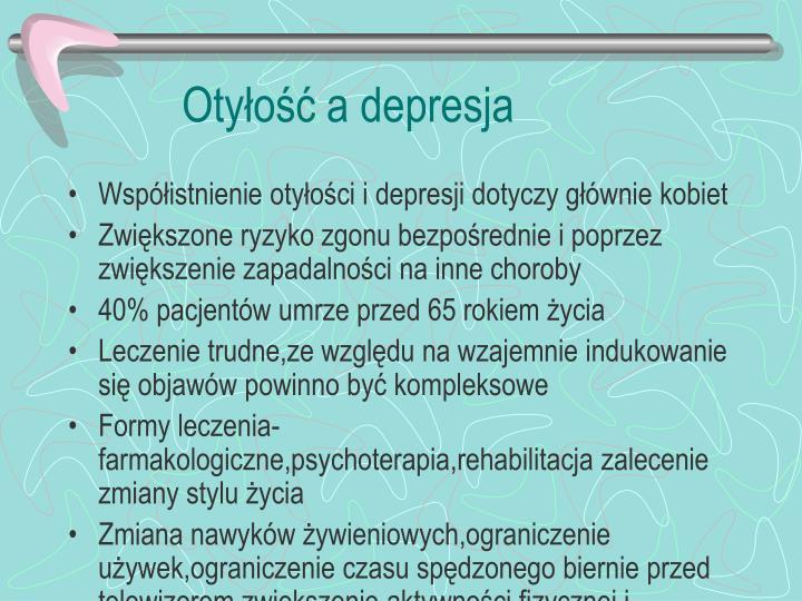 Otyłość a depresja