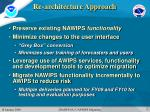 re architecture approach