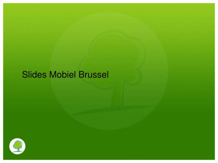 Slides Mobiel Brussel