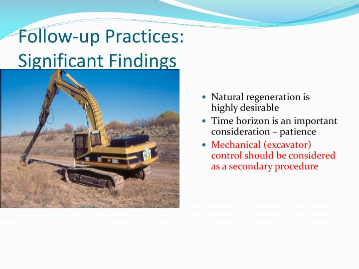 Follow-up Practices:
