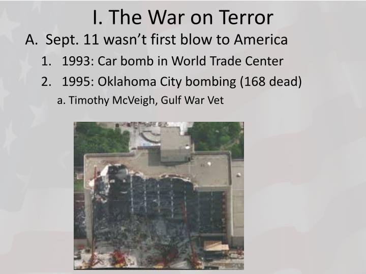 I. The War on Terror