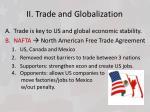 ii trade and globalization