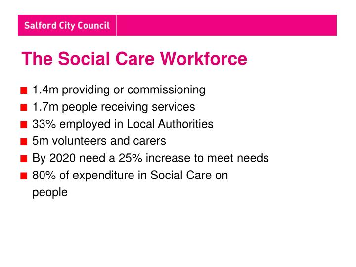 The Social Care Workforce