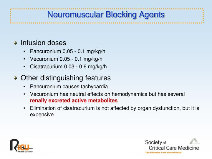 Neuromuscular Blocking Agents