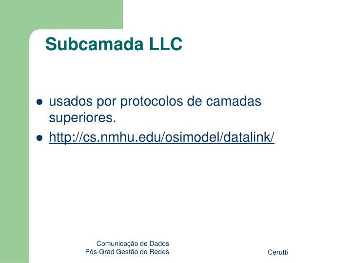 Subcamada LLC