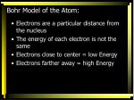 bohr model of the atom1