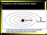 problems with rutherford s atom1