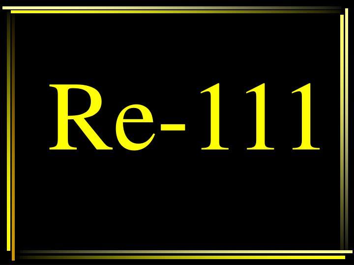 Re-111