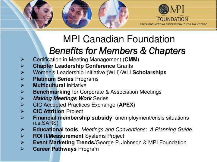 MPI Canadian Foundation