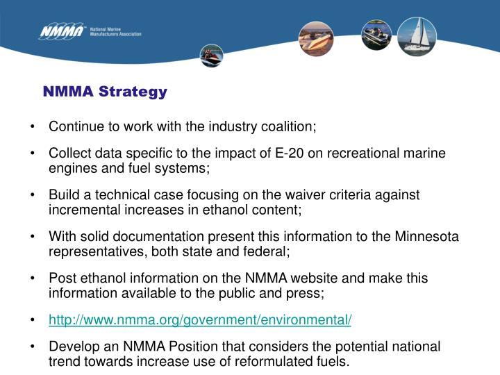 NMMA Strategy