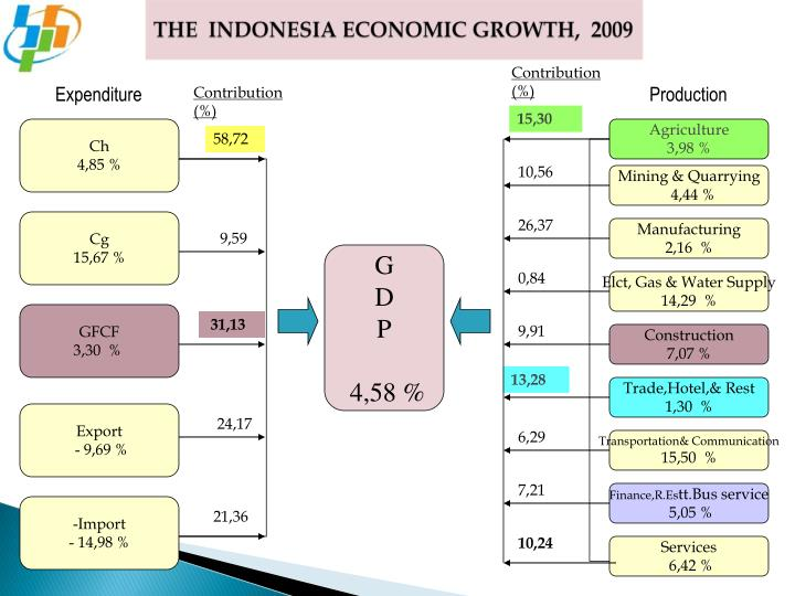 THE  INDONESIA ECONOMIC GROWTH,