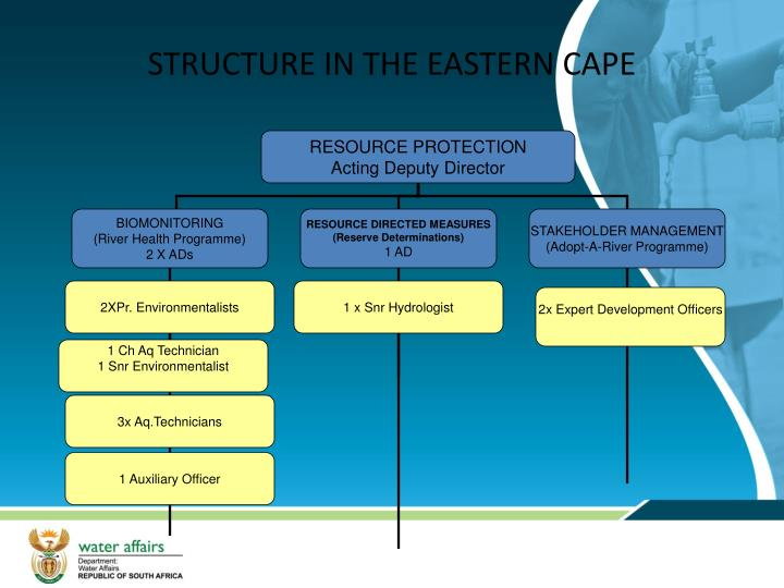 STRUCTURE IN THE EASTERN CAPE