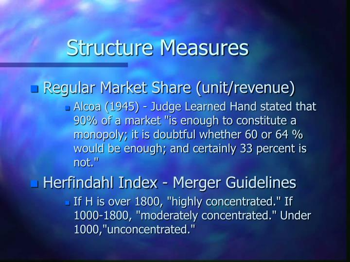 Structure Measures