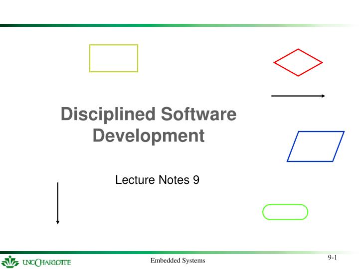 disciplined software development