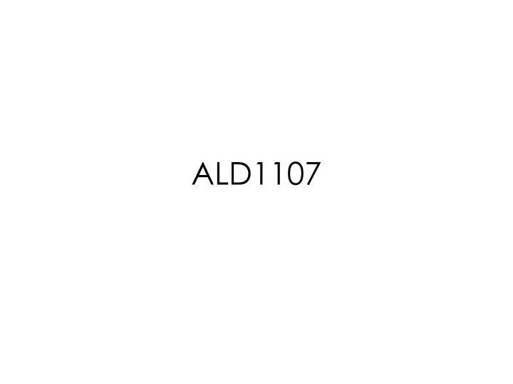ALD1107