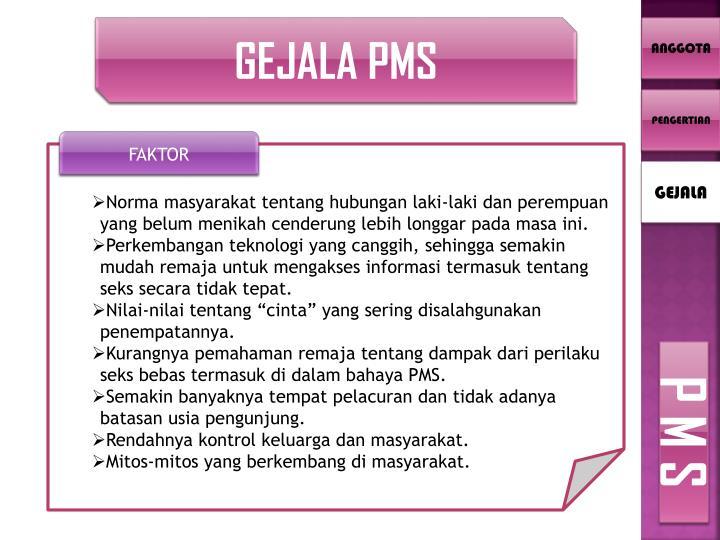 GEJALA PMS