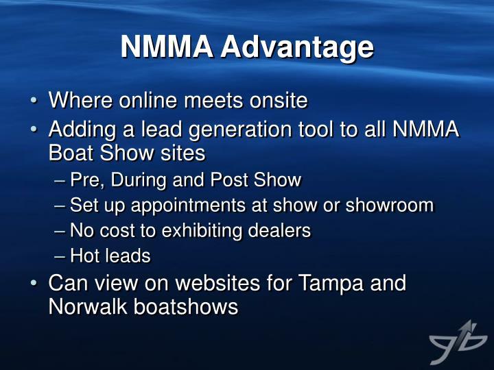 NMMA Advantage