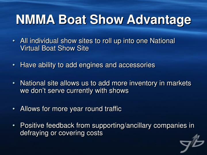 NMMA Boat Show Advantage